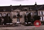 Image of French chateaux Negreville Normandy France, 1944, second 53 stock footage video 65675022050