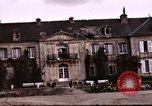 Image of French chateaux Negreville Normandy France, 1944, second 54 stock footage video 65675022050