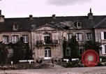 Image of French chateaux Negreville Normandy France, 1944, second 59 stock footage video 65675022050
