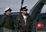 Image of British officers Atlantic Ocean, 1944, second 22 stock footage video 65675022052