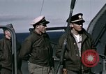 Image of British officers Atlantic Ocean, 1944, second 23 stock footage video 65675022052