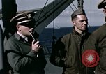 Image of British officers Atlantic Ocean, 1944, second 24 stock footage video 65675022052