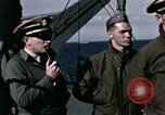 Image of British officers Atlantic Ocean, 1944, second 25 stock footage video 65675022052