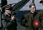 Image of British officers Atlantic Ocean, 1944, second 26 stock footage video 65675022052