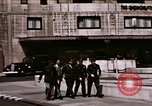 Image of US Army officers London England United Kingdom, 1944, second 5 stock footage video 65675022053