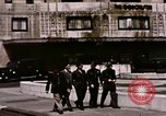 Image of US Army officers London England United Kingdom, 1944, second 6 stock footage video 65675022053