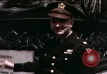 Image of US Army officers London England United Kingdom, 1944, second 38 stock footage video 65675022053