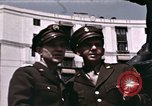 Image of US Army officers London England United Kingdom, 1944, second 45 stock footage video 65675022053