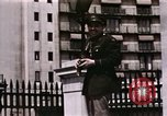 Image of US Army officers London England United Kingdom, 1944, second 54 stock footage video 65675022053