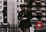 Image of US Army officers London England United Kingdom, 1944, second 55 stock footage video 65675022053