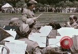 Image of Women's Army Corps band Kansas City Missouri USA, 1945, second 28 stock footage video 65675022062