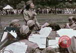 Image of Women's Army Corps band Kansas City Missouri USA, 1945, second 32 stock footage video 65675022062