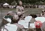 Image of Women's Army Corps band Kansas City Missouri USA, 1945, second 35 stock footage video 65675022062