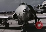 Image of Early flights of 1st US operational jet, P-80 shooting star United States USA, 1946, second 3 stock footage video 65675022068