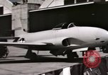 Image of Early flights of 1st US operational jet, P-80 shooting star United States USA, 1946, second 8 stock footage video 65675022068
