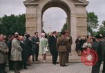 Image of British War Cemetary Normandy France, 1969, second 6 stock footage video 65675022077