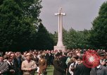 Image of British War Cemetary Normandy France, 1969, second 21 stock footage video 65675022077