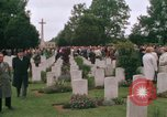 Image of British War Cemetary Normandy France, 1969, second 26 stock footage video 65675022077