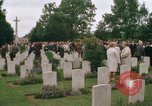 Image of British War Cemetary Normandy France, 1969, second 29 stock footage video 65675022077