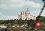 Image of Basilica of St Therese Lisieux France, 1969, second 53 stock footage video 65675022079