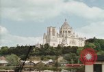 Image of Basilica of St Therese Lisieux France, 1969, second 54 stock footage video 65675022079