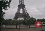 Image of Paris from helicopter Paris France, 1969, second 53 stock footage video 65675022090