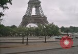 Image of Paris from helicopter Paris France, 1969, second 54 stock footage video 65675022090
