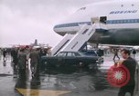 Image of Early Boeing 747 and Concorde F-WTSS Paris France, 1969, second 29 stock footage video 65675022091