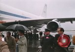 Image of Early Boeing 747 and Concorde F-WTSS Paris France, 1969, second 39 stock footage video 65675022091