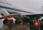 Image of Early Boeing 747 and Concorde F-WTSS Paris France, 1969, second 41 stock footage video 65675022091