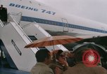 Image of Early Boeing 747 and Concorde F-WTSS Paris France, 1969, second 42 stock footage video 65675022091