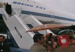 Image of Early Boeing 747 and Concorde F-WTSS Paris France, 1969, second 43 stock footage video 65675022091