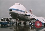 Image of Early Boeing 747 and Concorde F-WTSS Paris France, 1969, second 54 stock footage video 65675022091