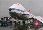 Image of Early Boeing 747 and Concorde F-WTSS Paris France, 1969, second 55 stock footage video 65675022091