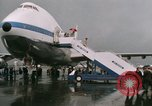 Image of Early Boeing 747 and Concorde F-WTSS Paris France, 1969, second 57 stock footage video 65675022091