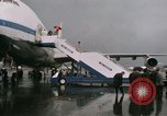 Image of Early Boeing 747 and Concorde F-WTSS Paris France, 1969, second 58 stock footage video 65675022091
