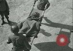Image of victims of concentration camp Germany, 1945, second 13 stock footage video 65675022109