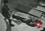 Image of victims of concentration camp Germany, 1945, second 15 stock footage video 65675022109