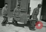 Image of victims of concentration camp Germany, 1945, second 44 stock footage video 65675022109