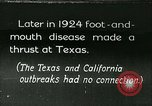Image of foot and mouth disease United States USA, 1925, second 1 stock footage video 65675022116