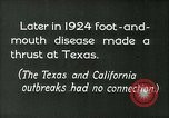 Image of foot and mouth disease United States USA, 1925, second 2 stock footage video 65675022116