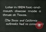 Image of foot and mouth disease United States USA, 1925, second 5 stock footage video 65675022116