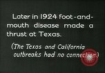 Image of foot and mouth disease United States USA, 1925, second 6 stock footage video 65675022116
