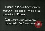 Image of foot and mouth disease United States USA, 1925, second 9 stock footage video 65675022116