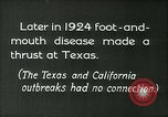 Image of foot and mouth disease United States USA, 1925, second 10 stock footage video 65675022116