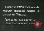 Image of foot and mouth disease United States USA, 1925, second 12 stock footage video 65675022116