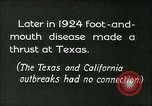 Image of foot and mouth disease United States USA, 1925, second 15 stock footage video 65675022116