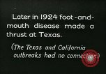 Image of foot and mouth disease United States USA, 1925, second 16 stock footage video 65675022116