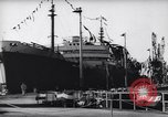 Image of oil tanker Middle East, 1962, second 10 stock footage video 65675022132