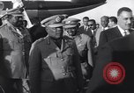 Image of Gen Ibrahim Abboud and King Hussein I Cairo Egypt, 1962, second 14 stock footage video 65675022135